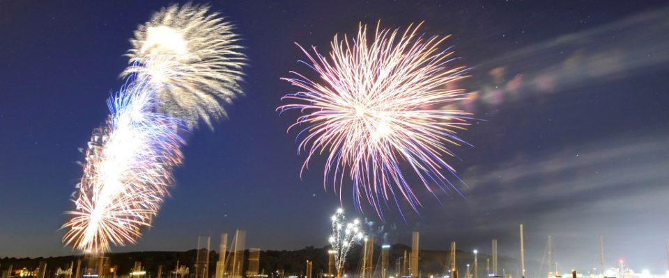 Falmouth Week Fireworks